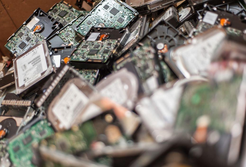 Pile de disques durs